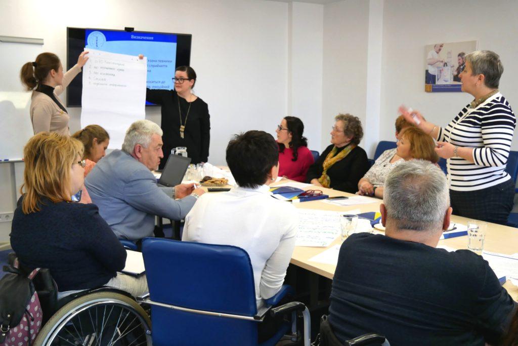 IFES проводить зустріч із політичних прав людей з інтелектуальною й психосоціальною інвалідністю в Україні