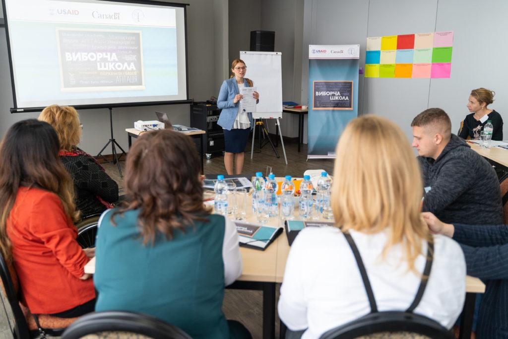 IFES провела Виборчу школу для представників та представниць громадянського суспільства