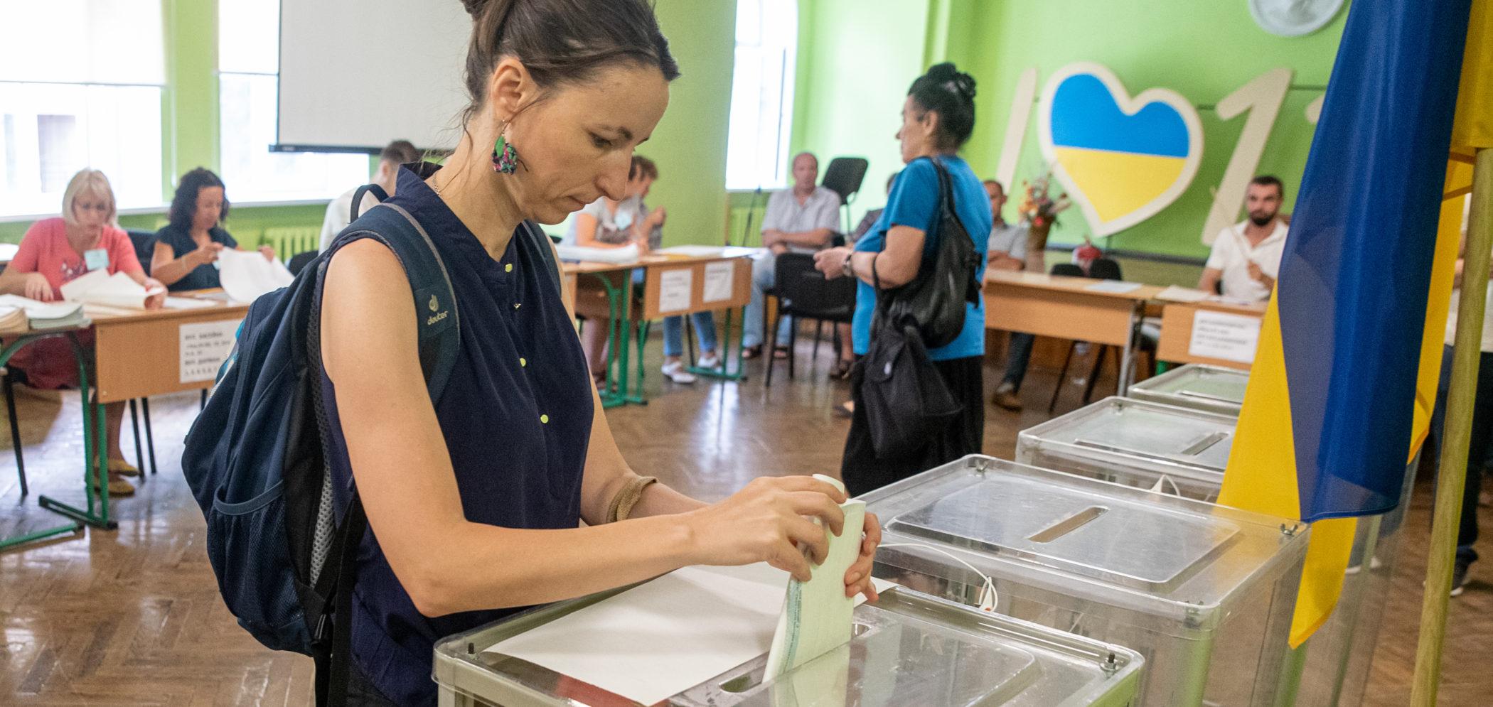 Ukraine's parliament adopts historic election code